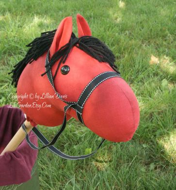 Red Pony stick horse